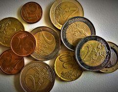 Das Bild zeit Münzen.